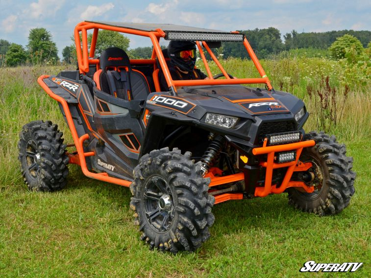 super atv front bumper polaris rzr 900 xp 1000 voodoo. Black Bedroom Furniture Sets. Home Design Ideas