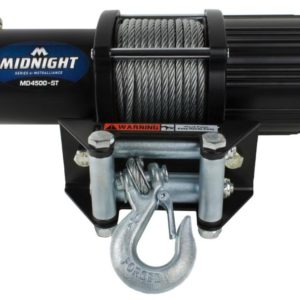 MOTOALLIANCE VIPER WINCH - STEEL CABLE - 4500LBS_MD4500-ST