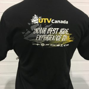 UTV CANADA MENS T-SHIRT - EXPERIENCE IT UTV-MT-EI