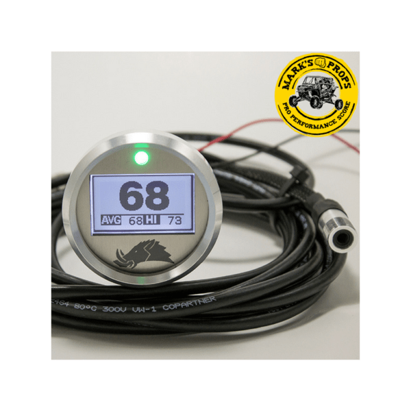 RAZORBACK TECHNOLOGY BELT TEMPERATURE 3.0 GUAGE WITH PRO SENSOR 12′ CABLE_RBT10-12_Marks Props
