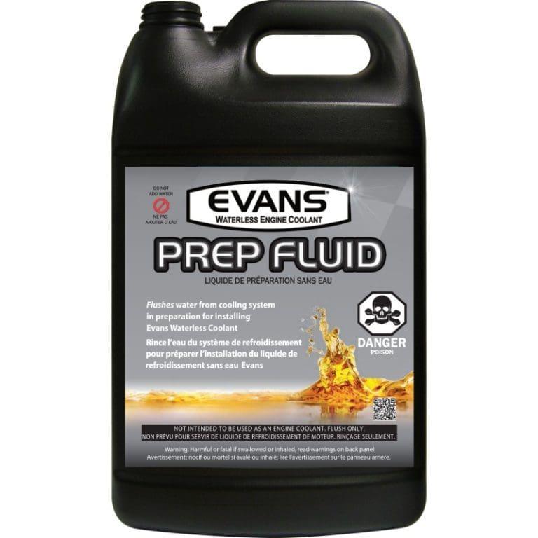 Waterless Coolant Prep Fluid