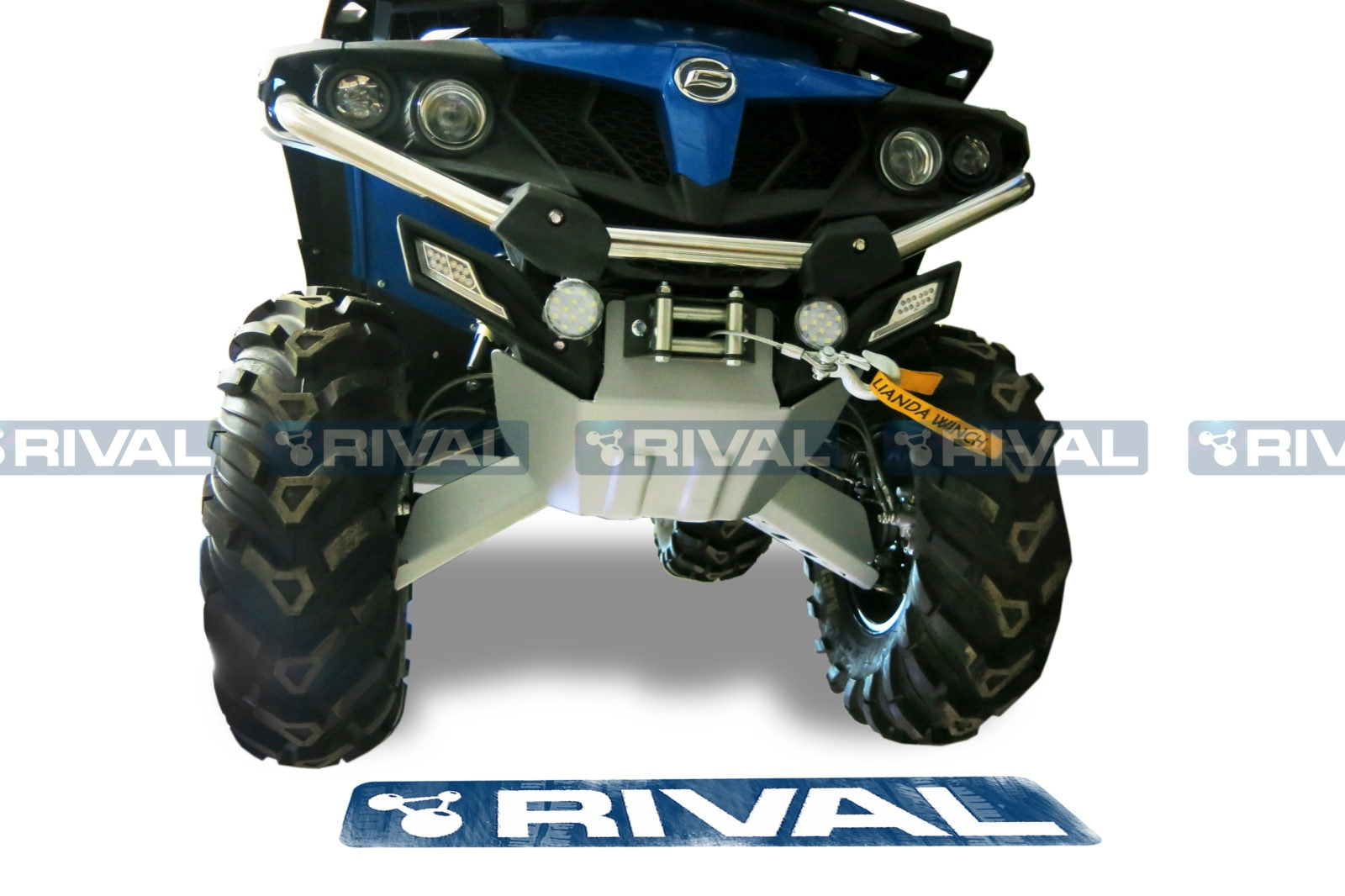 Rival Skid Plate Set Cf Moto Cforce 500 Ho X5 Aluminum Utv Wiring Diagram Rv 2444 6846 1