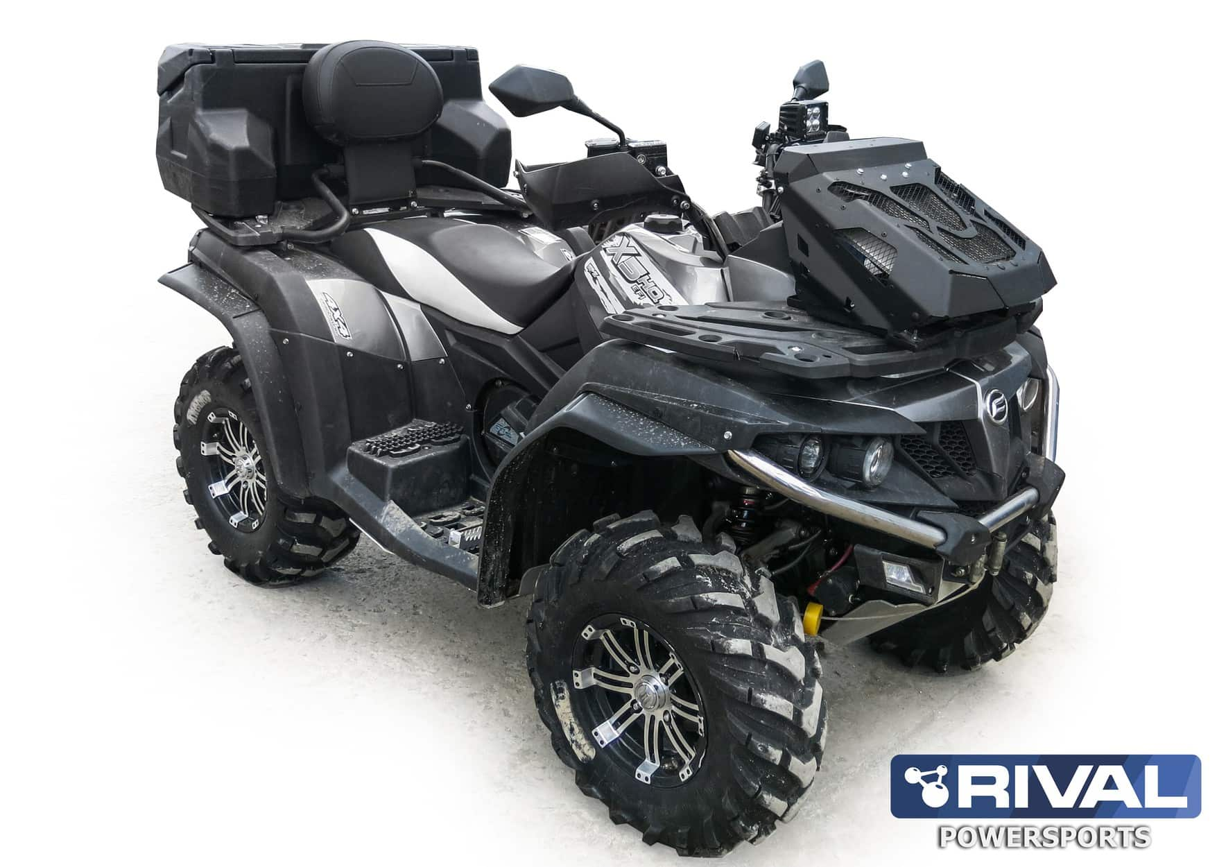 rival rad relocation kit cf moto cforce 450 520 550 ho utv canada. Black Bedroom Furniture Sets. Home Design Ideas