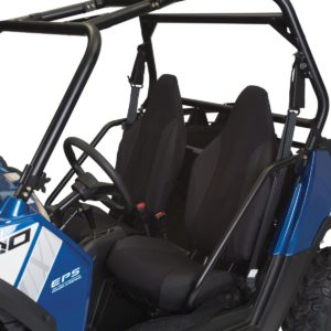 UTV Seat Covers-Black-Polaris RZR - RZR 4 - 4 800 - 570 - 800 - S 800 - XP 4 900 - XP 900