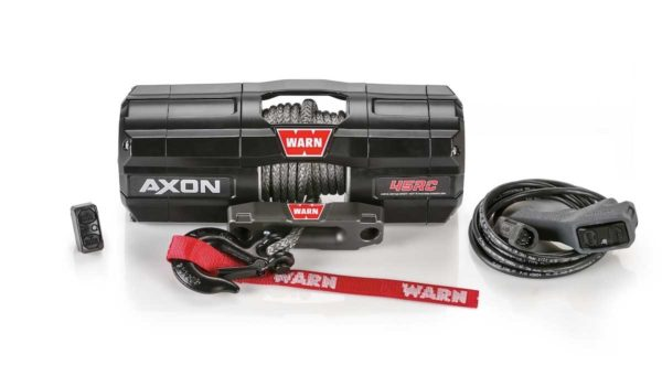 101240 WARN WINCH WITH SYNTHETIC ROPE AXON 45RC