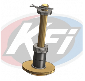 KFI SINGLE PLOW FOOT REPLACEMENT KIT
