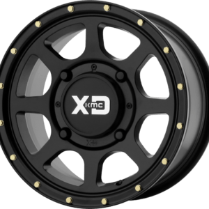 KMC Wheels XS 134 ADDICT 2 WHEEL SATIN BLACK