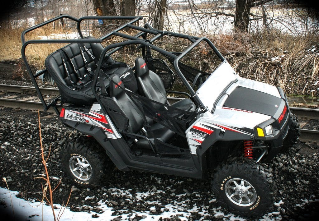 Cage Extensions for making your 2 seater into a Family UTV