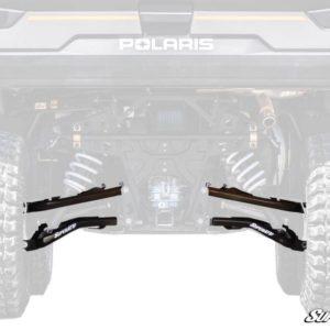 SUPER ATV A-ARMS HIGH CLEARNACE REAR OFFSET POLARIS RANGER XP 1000 - BLACK