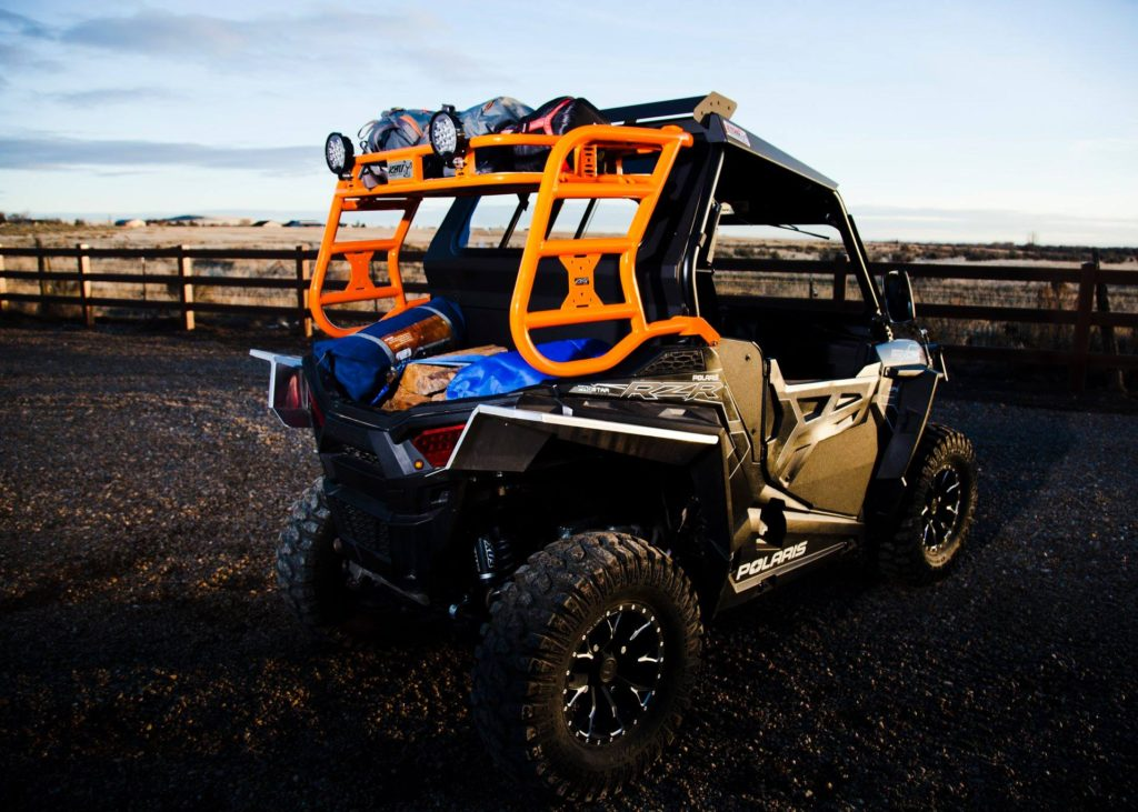 Awesome picture of the Razorback Offroad's Cargo Rack