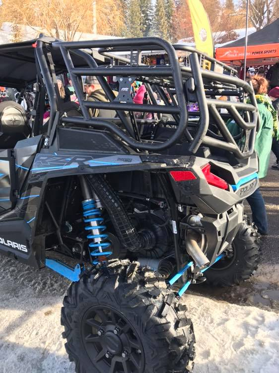 Carry everything you need with Razorback Offroad's Cargo Rack.