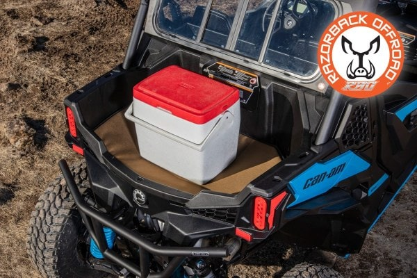 Razorback Offroad Heatshield works perfect for coolers helping keep the ice cold