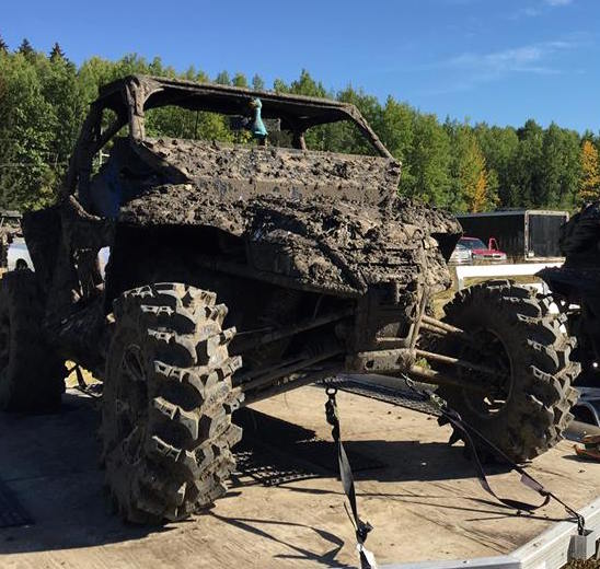 A Side by Side Covered In Mud - Offroading And The Effects On The Environment