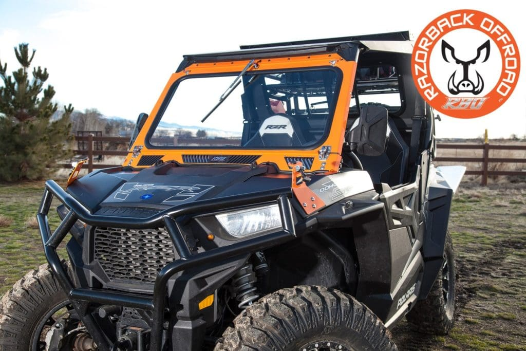 Discover how to clean your UTV's glass windshield
