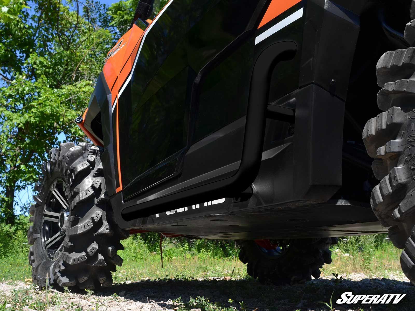 Super Atv Nerf Bars Polaris General Rzr 900 Rzr Xp 1000 Black Utv Canada