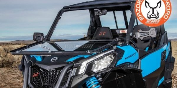 Razorback Offroad Windshield - Fold Down Options Available